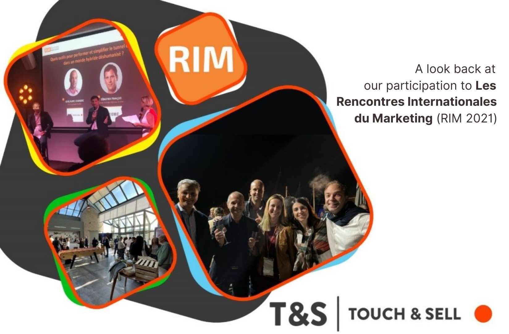 A look back at our participation to Les Rencontres Internationales du Marketing (RIM 2021)